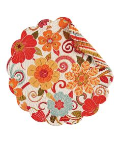 Look what I found on #zulily! Giselle Round Place Mat - Set of Six by C & F #zulilyfinds
