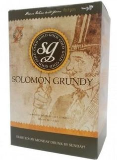 The Original 7 day Wine Kit! Solomon Grundy Gold, Merlot. A great tasting, low cost way to make wine.