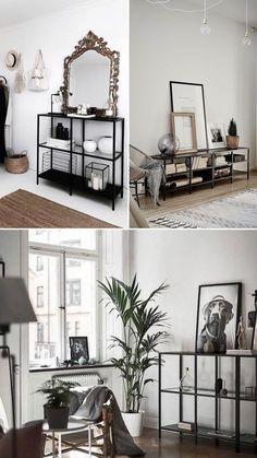 Pastel Living Room, Ikea Living Room, Apartment Design, Apartment Living, Flat Interior, Interior Design, Home Office Design, House Design, Ikea Vittsjo