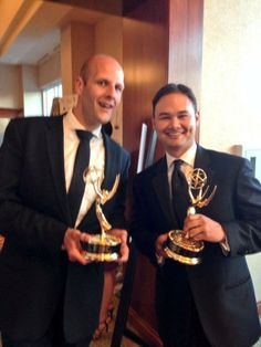 Congratulations to Aaron Levine and Walker Anderson on their Emmy win this past weekend!