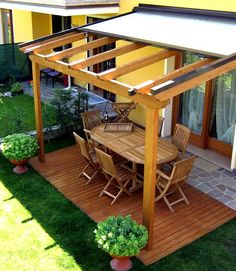 48 backyard porch ideas on a budget patio makeover outdoor spaces best of i like this open layout like the pergola over the table grill 43 Table Makeover backyard Budget Grill Ideas Layout Makeover open Outdoor Patio Pergola Porch Spaces Table Pergola With Roof, Wooden Pergola, Outdoor Pergola, Backyard Pergola, Pergola Shade, Patio Roof, Outdoor Rooms, Outdoor Living, Backyard Shade