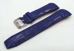 Vostok Europe Gaz-Limo Leather Strap 23mm Blue-Gaz.23.L.S.Bu