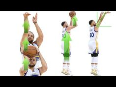 54be3ab4bf5 Stephen Curry Shooting Form Straight Force Theory Secret Analytics