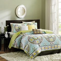 Samara 6 Piece Coverlet Set Size: King Madison Park  Sale:	$97.99 & FREE SHIPPING
