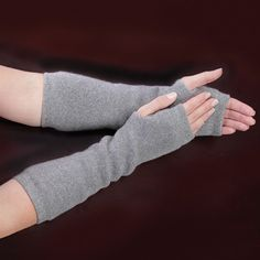 The Cashmere Arm Warmers - Hammacher Schlemmer  These I REALLY want. My wrists hurt so bad when they get cold at my desk but gloves and keyboards don't work well together.