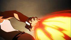 Avatar Fire Bending (gif) | TLOK The Legend of Korra
