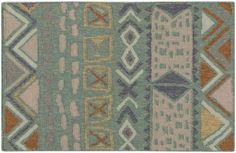 NOD-102, #surya. nomad. 100% wool. handwoven. flat pile. distressed. india.