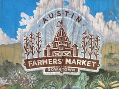Austin Farmers Market - every Saturday from 9am-1pm. Organic produce, dairy, and meat! Plus fresh drinks, tamales, and pastries from local vendors. Don't forget cash and your recyclable bags