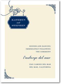 Gorgeous wedding invitation style