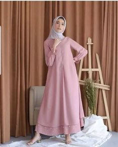 Trendy Dress Brokat Syari - - Trendy Dress Brokat Syari Source by Model Dress Batik, Batik Dress, Muslim Women Fashion, Islamic Fashion, Casual Dress Outfits, Trendy Dresses, Abaya Fashion, Fashion Dresses, Simple Long Dress