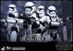 Star Wars: Episode VII - The Force Awakens - First Order Heavy Gunner Stormtrooper Sixth Scale Figure