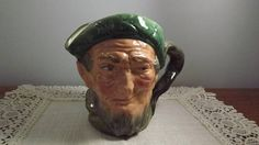 Large Royal Doulton Collector Toby Mug Pitcher Jug Auld Mac