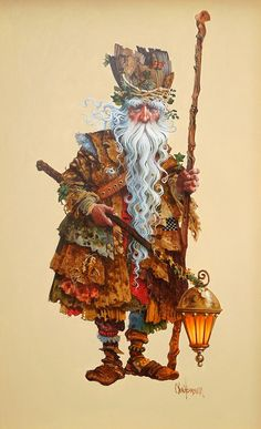 Troll ~ James Christensen. Topo doesn't know all these things, yet. Query=how do we know that this is a troll? is this the name given this painting by James Christensen, himself, then?