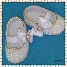 Sapato Customizado Passos de Princesa