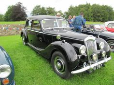 Riley RMB 1952 at Sherborne Castle classic car show
