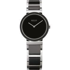 Bering Ladies Black Dial Ceramic Bracelet Watch 11425-742