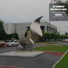 Homenaje y presentación de la escultura Ángel de la paz en el Centro Cultural Carranza, Delegación Venustiano Carranza  #PepoToledoArt
