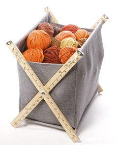 Yarn Basket   Martha Stewart