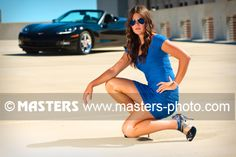 Creative Senior Pictures at Masters, in Flint, Michigan