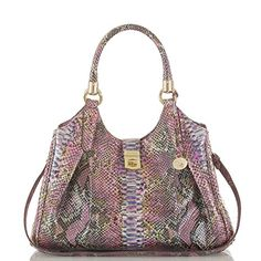 Brahmin Elisa Berry Opal  Seville Handbag