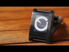 I want this watch! handy in seeing who's calling, without having to take the phone out, good idea.