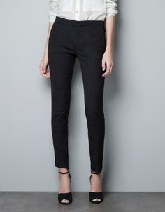 skinny black pants for women - Pi Pants