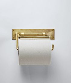 Brass Roll Hanger / toilette et salle de bain - Dream Homes Decoration Inspiration, Bathroom Inspiration, Decor Ideas, Interior Inspiration, Home Decor Accessories, Decorative Accessories, Beautiful Bathrooms, Messing, Cheap Home Decor