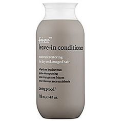 Living Proof No Frizz Leave-In Conditioner  Down come the spring rains and along comes frizz. To stay flyaway-free, apply this smart formula, which blocks your hair's worst enemy: humidity.  To buy: $24, sephora.com.