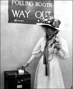 Christabel Pankhurst, (daughter of Emmeline Pankhurst), a radical British suffragette in Great Britain.