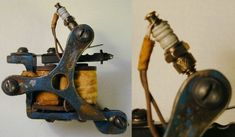 tattoo machine,Bernhard's Bronze Vintage Liner