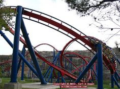 Superman Krypton Coaster. Six Flags Fiesta Texas.