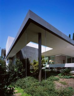 Just one of those cloudy overcast mornings in beverly - Limposante residence contemporaine de ehrlich architects ...