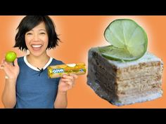 4-Ingredients, 10 minutes - Lime Maria Icebox Cake - Carlota de Limon - YouTube Lime Desserts, Easy Desserts, Dessert Recipes, Lemon Icebox Cake, Icebox Pie, Lime Cake, Egg Free Recipes, Food Club, Toasted Coconut