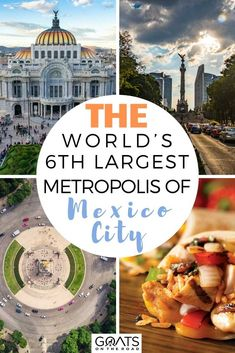 Wondering what it's like in Mexico City? This guide gives you an insight of the World's 6th Largest Metropolis of Mexico City! Be amazed by one of the world's most interesting cultures! | #MexicoCity #travelguide #bucketlist