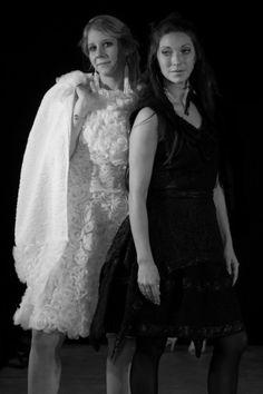 La Petite Robe Noire et Blanche - Défilé Art'smod 2016 - Fabienne Dimanov Paris Marie, Dresses, Fashion, Bridal Collection, Personal Stylist, Black N White, Dress Ideas, Fashion Ideas, Vestidos