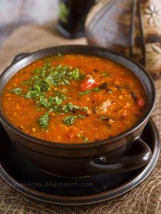 Charczo - gruzińska zupa gulaszowa