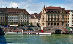 A riverboat on the Rhine on its way to Basel, Switzerland. (From: Photos: 8 Trips Everyone Should Do)