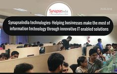 SynapseIndia technologies help global businesses across the USA, UK and worldwide make the msot of information technology and get a leading edge in competition. Global Business, Information Technology, Innovation, Competition, How To Make, Computer Technology