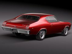 Not a Harley, but his first love, 69 Chevelle SS