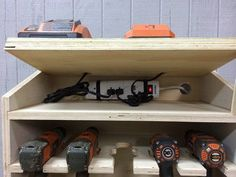 Cordless Drill Charging Station