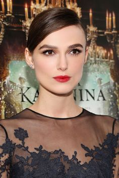 Keira Knightley #makeup #beauty