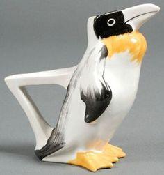 Limoges Porcelain | Sandoz (Edouard Marcel) Pitcher Penguin prices4antiques.com