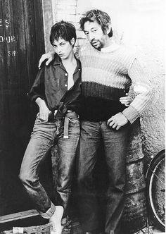"nostalgia-gallery: "" Jane & Serge """