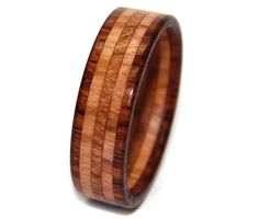 wooden ring custom rosewood olivewood 2