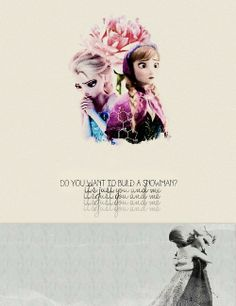 It's just you and me. Sisters <3 #Frozen