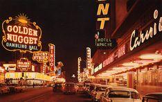 Golden Nugget Mint Gowntown Vintage Las Vegas