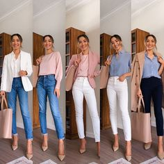 I've had lots of requests for business casual outfits and today's IGTV is all about spring looks! Business Casual Outfits For Women, Casual Work Outfits, Business Attire, Work Attire, Work Casual, Trendy Outfits, Business Casual Clothes, Business Casual With Jeans, Business Casual Fashion