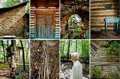 At Home With Patrick Dougherty - Building With Sticks and Stones - NYTimes.com