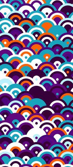 ''ScaleFunk' Hardcover Journal by russfussuk Diamond Wallpaper, Purple Wallpaper, Pattern Illustration, Graphic Design Illustration, Cellphone Wallpaper, Iphone Wallpaper, Hd Wallpapers For Mobile, Purple Art, Generative Art