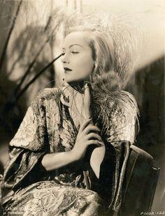 Carole Lombard wearing Travis Banton. 1930s.